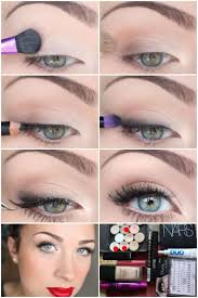 makeup for green eyes and blonde hair