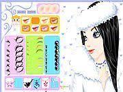 play winter makeup game
