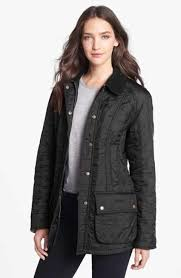Women's Coats & Jackets: Puffer & Down | Nordstrom & Barbour 'Beadnell' Quilted Jacket Adamdwight.com