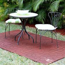 rubber patio tiles features and benefits of rubber patio paver