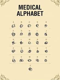 Medical Quotes Custom Medical Alphabet Funny Quotes IMG