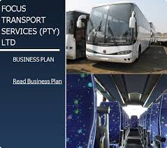 Transportation Sample Business Plan | South Africa