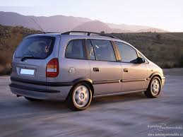 Opel Zafira F75 - specifications, description, photos.