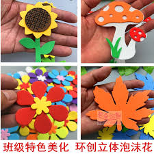 There are many options in this type of decorated walls. Primary School Classroom Decoration Arrangement Supplies Junior High School Blackboard Newspaper Exhibition Board Beautify The Class Culture Wall Paste Ring To Create Foam Flowers