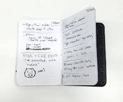 the notebooks of optimizely s design team a photo essay jeff design manager