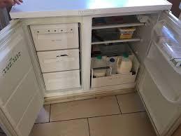 Counter Fridge Zanussi Fridge Freezer Combination Under Counter In Aspley