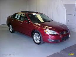2007 Red Jewel Tint Coat Chevrolet Impala LTZ #32178366 Photo #3 ...