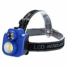 Portable <b>COB LED Headlight</b>, Strong Lumen 2-Mode Headlamp ...