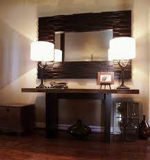 contemporary entry table. Image By: Map Interiors Inc Sylvia Beez Contemporary Entry Table B