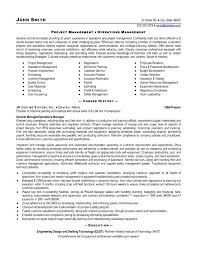 Examples Of Project Management Resumes Sample Project Management ...