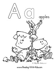 Small Picture Luxury Letter A Coloring Page 26 For Coloring for Kids with Letter