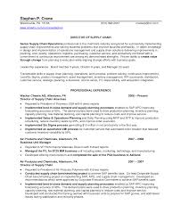 Best Solutions Of Supply Planner Resume Examples Brilliant Supply