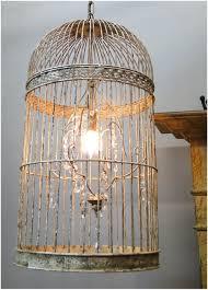 amazing of diy birdcage chandelier idea