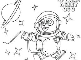 Disney Junior Vampirina Coloring Pages Octonauts Special Agent To