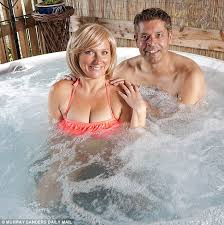 Wife shared in hot tub