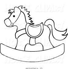 Toy Horse Clipart - ClipartXtras