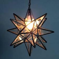 moravian star ceiling light pendant fixture modern outdoor