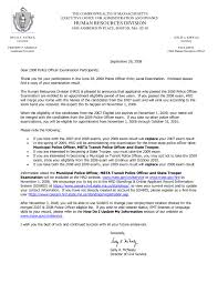 Federal Corrections Officer Cover Letter Medical Examiner
