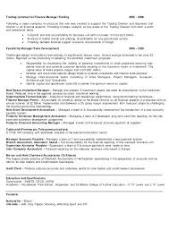 Financial Manager Resume Cute Project Finance Manager Resume With ...