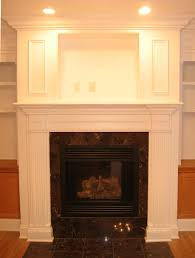 image of how to build a brick fireplace surround