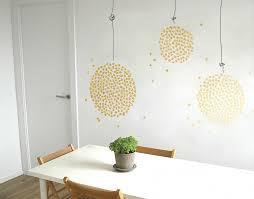 glistening hanging lights on cafe wall art nz with glistening hanging lights your decal shop nz designer wall art