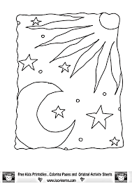 Small Picture Im grateful for the Sun moon Stars ThanksGiving Coloring