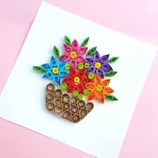 Paper Quilling Rose Flower Basket Paper Quilling Gallery Craftgawker
