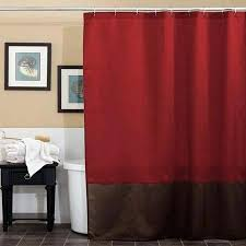 red shower curtains remarkable red brown curtains decor with best red shower curtains ideas on home red shower curtains