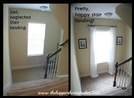 Decorated Stair Landing And Picture Hanging Tip The Happier