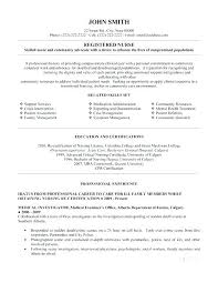 Rn Resume Template Adorable Entry Level Rn Resume Sample Templates Of Assistant Nursing