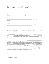 Form Promissory Note Promissory Note Form Bio Letter Sample 11