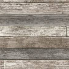 NuWallpaper Reclaimed Wood Plank ...