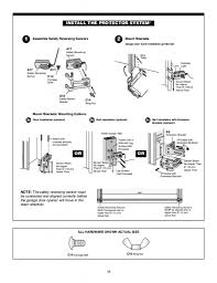 Garage Door Opener Installation Instructions Chamberlain - Wageuzi