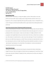 Mla Research Proposal Business Research Proposal Template Paper Example Chicago Sample