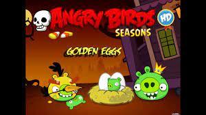 Angry Birds Seasons - Season 3 - Haunted Hogs Golden Eggs Walkthrough -  YouTube