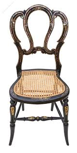 Old Fashioned Bedroom Chairs Victorian Mother Of Pearl Cane Bedroom Chair Antiques Atlas