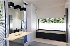 wall size bathroom mirror