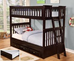 twin bunk beds.  Beds Espresso Twin Over Bunk Bed Throughout Beds U