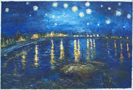 starry night over the rhone wallpaper 1970x1338