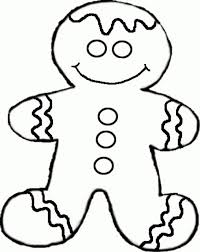 Small Picture Coloring Pages Gingerbread Men Christmas Tree And Star Printables