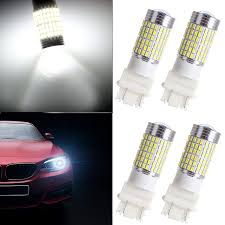 3156 Led Backup Light Bulbs Ocpty Reverse Lights 3056 3156 3057 3157 144 Ex Chipsets Led Bulbs With Projector Replacement Replacement Fit For Backup Lights 4x White