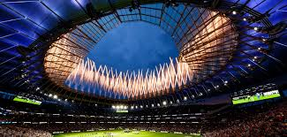 The new tottenham hotspur stadium has a field that moves away to reveal an artificial surface below that's perfect for hosting. Tottenham Hotspur Stadium Ranked Best Soccer Venue In The World Stadia Magazine