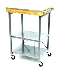 s butcher block cart carts kitchen
