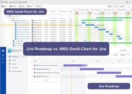 How To Use Gantt Chart In Jira Wbs Gantt Chart For Jira Vs Jira Roadmap Reasons To Go