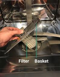 water in the bottom of your dishwasher