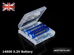 2x 14500 3 2v battery 600mah ifr