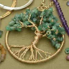 wire wrapped tree of life pendant mindy