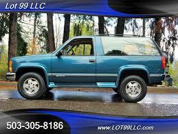 1993 Chevrolet Blazer 2 Dr Silverado 2dr 4X4 1 Owner for sale in ...