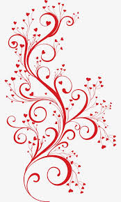 Vine Pattern Interesting Creative Geometric Pattern Patterncartoon Painted Vine Pattern