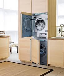 What Is The Best Stackable Washer Dryer Best Stacked Washer Dryer The Curated House White And Black